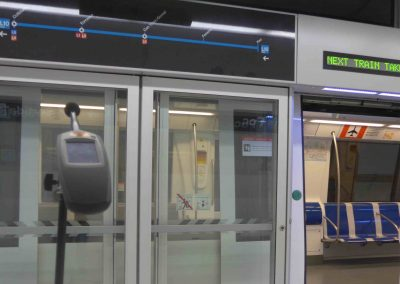 Quality control of electro-acoustics on metro lines L9 and L10 in Barcelona